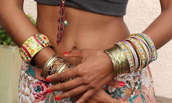 bracelets hippie chic