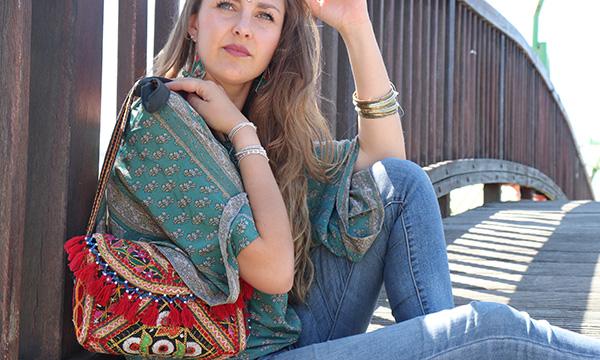 pochette hippie chic