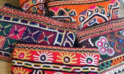 sacs et pochettes indiennes