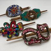 Encore du nouveau les filles ! Nos barrettes à chignon sont disponibles! Pour un style bohème ou hippie-chic 😍 Www.bijouxindiens.net