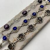 Zoom sur nos bracelets en argent et pierres 😍 ils vous attendent sur le site 😉 www.bijouxindiens.net