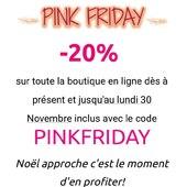 Venez profiter de nos jours de PINK FRIDAY sur la boutique en ligne www.bijouxindiens.net ❤️