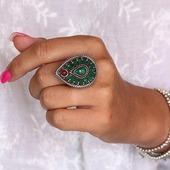 Du nouveau du côté des bagues fantaisie les filles! Pour toutes les amoureuses de style ethnique et bohème ! C'est par ici 🥰 www.bijouxindiens.net