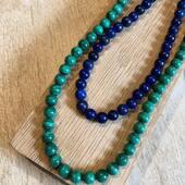 Venez découvrir nos nouveaux collier en lapis lazuli et malachite naturel sur la boutique en ligne! Www.bijouxindiens.net