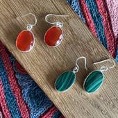 Ces boucles d'oreilles en argent sont sobres et raffinées ce qui permet à la pierre naturelle d'être mise en valeur ❤️ Retrouvez les sur notre site www.bijouxindiens.net