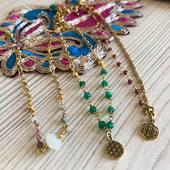 Avez vous déjà jeté un coup d'œil à nos nouvelles chaînes de chevilles en laiton? 😍😍 Www.bijouxindiens.net