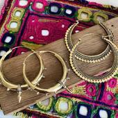 Créoles ethniques en laiton ✨ Retrouvez les sur www.bijouxindiens.net