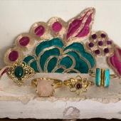 Aujourd'hui nos bagues en laiton sont à l'honneur 🥰 Venez découvrir tous nos modèles sur la boutique en ligne www.bijouxindiens.net