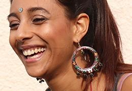 Les boucles d'oreilles indiennes