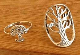 Bagues arbre de vie : tout un symbole