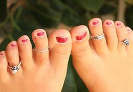 Bague d'orteil : le bijou d'été