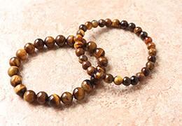Bracelets oeil de tigre : pierre de protection