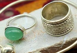 L'entretien des bijoux argent