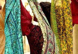La fabrication des tissus indiens en soie