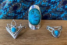 Bague turquoise argent : tout un symbole